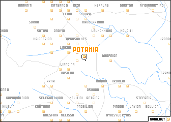 map of Potamiá