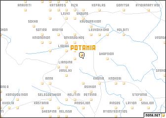 map of Potamiá