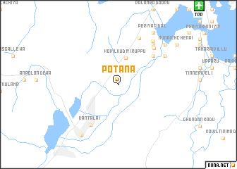 Potana Sri Lanka Map Nonanet - Where is sri lanka