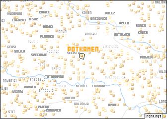 map of Potkamen