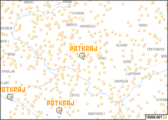 map of Potkraj