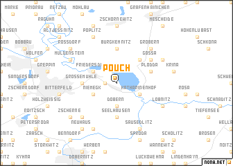 map of Pouch
