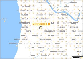 map of Pousadela