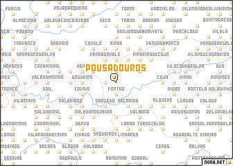 map of Pousadouros