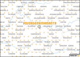 map of Póvoa de Rainha Santa