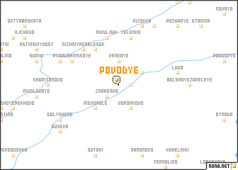 map of Povod\