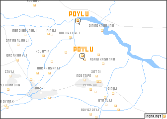 map of Poylu