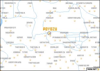 map of Poyozu