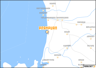 map of Prampuan