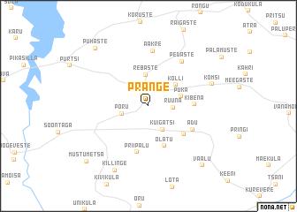 map of Prange