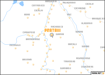 map of Prata III