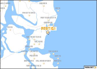 map of Pratigi