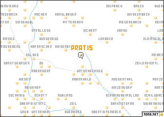 map of Prätis