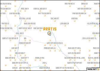 map of Prätis
