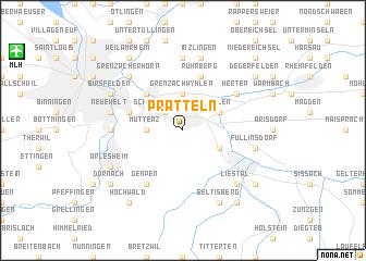 map of Pratteln