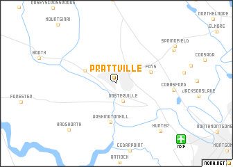 map of Prattville