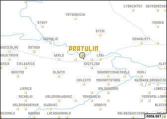 map of Pratulin