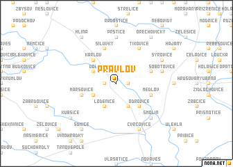 map of Pravlov