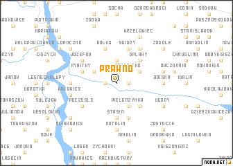 map of Prawno