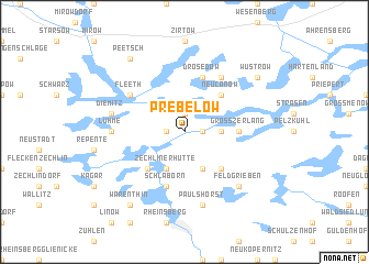 map of Prebelow