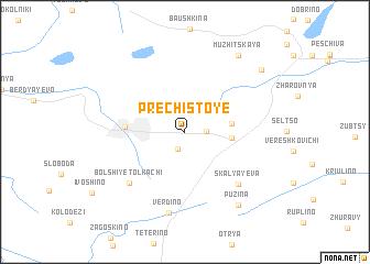 map of Prechistoye
