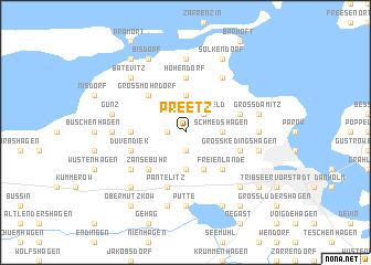 map of Preetz