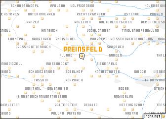 map of Preinsfeld