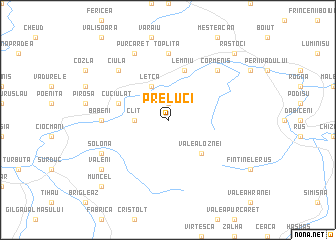 map of Preluci