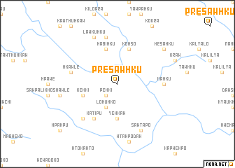 map of Prè-sawhku