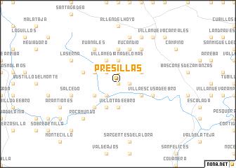 map of Presillas