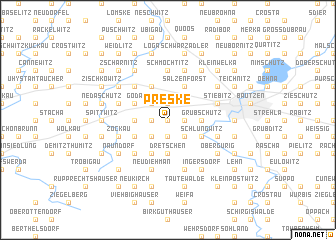 map of Preske