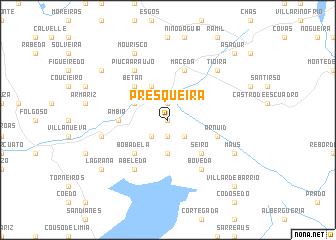 map of Presqueira