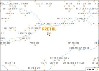 map of Pretul