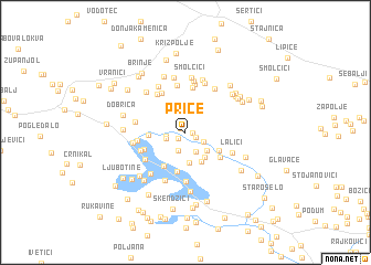 map of Price