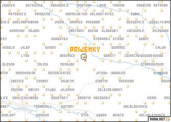 map of Příjemky