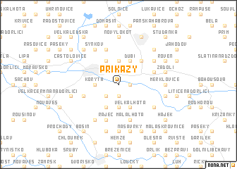 map of Příkazy