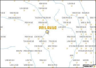 map of Prilawdo