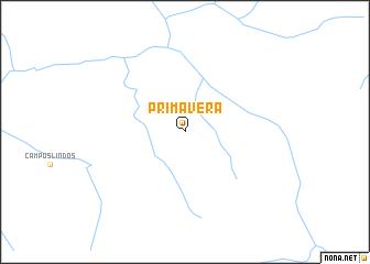 map of Primavera