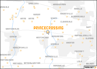 map of Prince Crossing