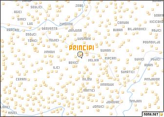 map of Principi