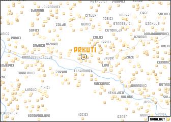 map of Prkuti