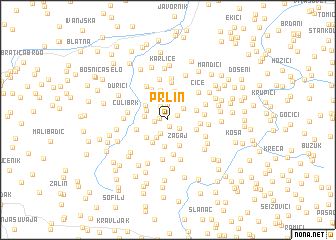 map of Prlin