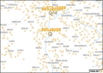 map of Prnjavor