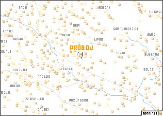 map of Proboj