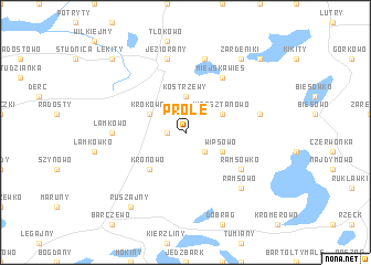 map of Próle