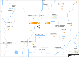map of Promised Land