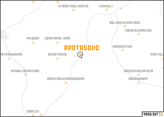 map of Protasovo