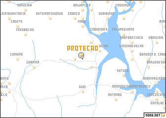 map of Proteção