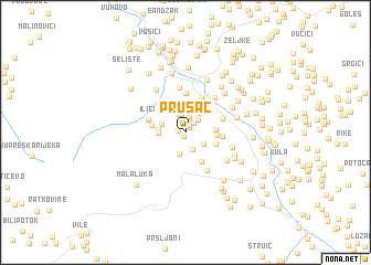 map of Prusac