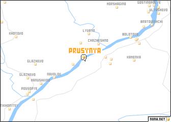 map of Prusynya